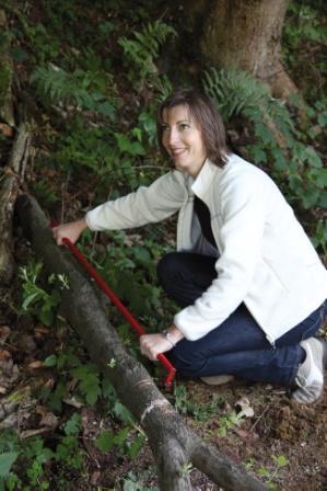Traçage du bois au gabarit